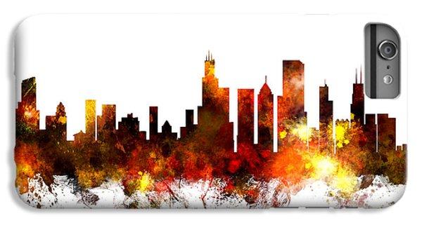 University Of Illinois iPhone 7 Plus Case - Chicago Illinois Skyline by Michael Tompsett