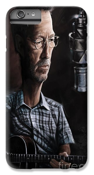 Eric Clapton IPhone 7 Plus Case by Andre Koekemoer
