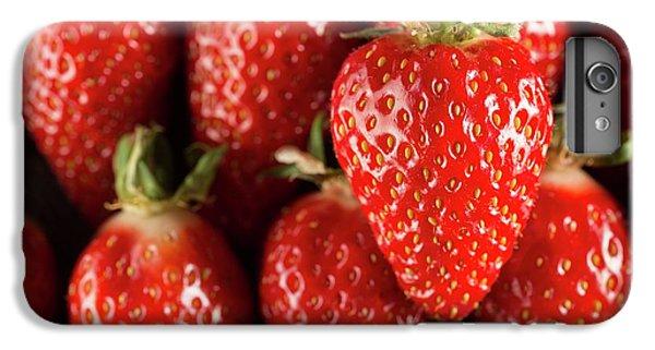 Gariguette Strawberries IPhone 7 Plus Case by Aberration Films Ltd