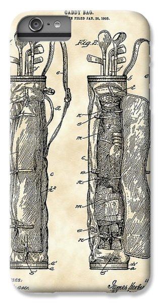 Golf Bag Patent 1905 - Vintage IPhone 7 Plus Case