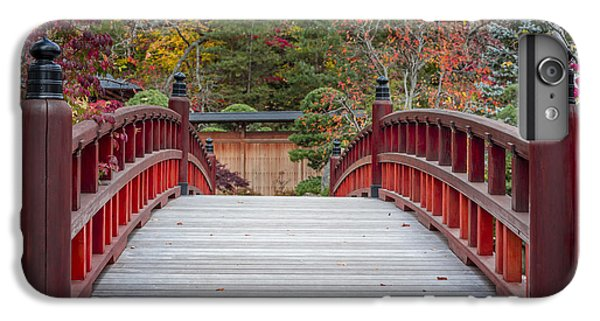 IPhone 7 Plus Case featuring the photograph Japanese Bridge by Sebastian Musial