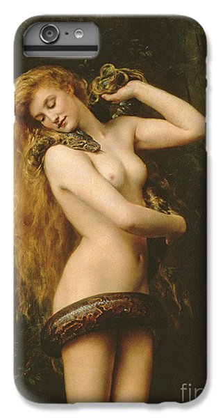 Python iPhone 7 Plus Case - Lilith by John Collier