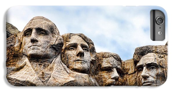 Mount Rushmore Monument IPhone 7 Plus Case by Olivier Le Queinec