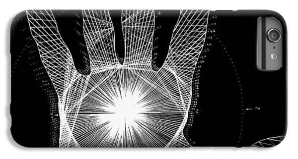Miami iPhone 7 Plus Case - Quantum Hand Through My Eyes by Jason Padgett