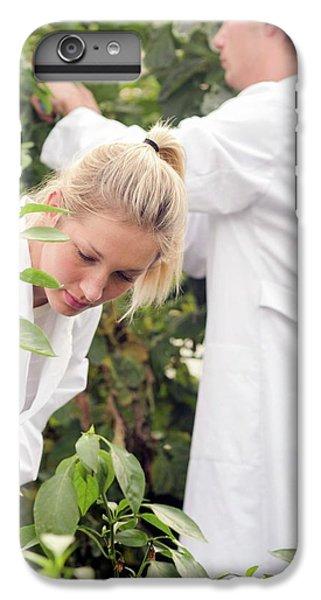 Scientists Examining Tomatoes IPhone 7 Plus Case