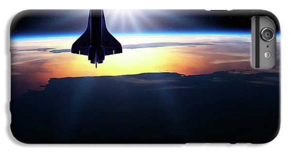 Space Shuttle In Orbit IPhone 7 Plus Case