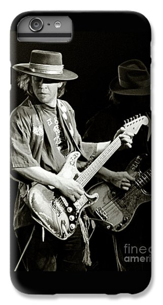 Rock And Roll iPhone 7 Plus Case - Stevie Ray Vaughan 1984 by Chuck Spang