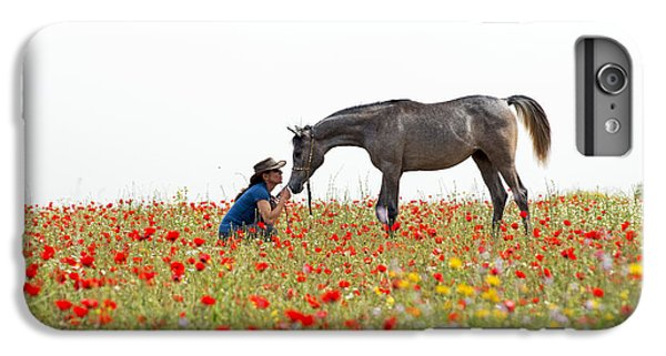 Three At The Poppies' Field... 4 IPhone 7 Plus Case by Dubi Roman