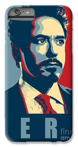 Ant iPhone 7 Plus Case - Tony Stark by Fine Artist