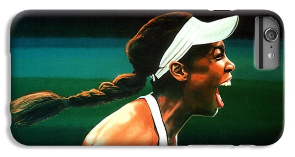 Venus Williams IPhone 7 Plus Case by Paul Meijering