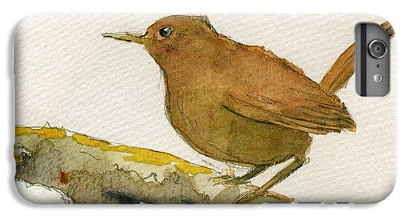 Wren iPhone 7 Plus Case - Wren Bird by Juan  Bosco