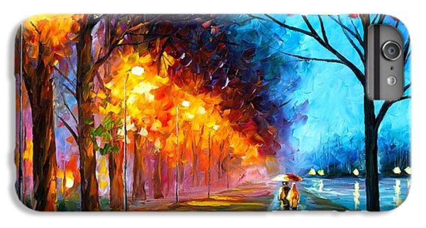 Afremov iPhone 7 Plus Case - Alley By The Lake by Leonid Afremov