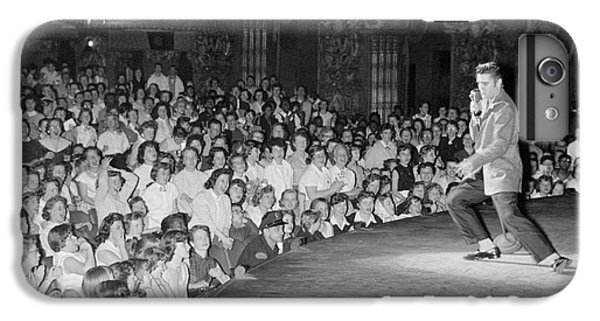 Elvis Presley In Concert At The Fox Theater Detroit 1956 IPhone 7 Plus Case by The Harrington Collection