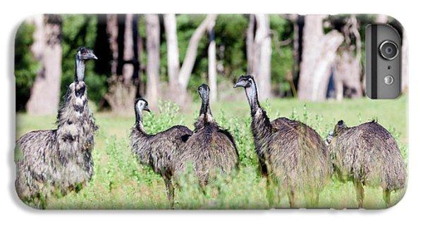 Emu iPhone 7 Plus Case - Emu (dromaius Novaehollandiae by Martin Zwick