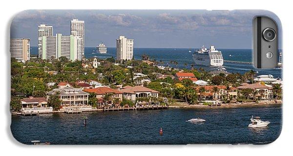 Jet Ski iPhone 7 Plus Case - Fort Lauderdale, Port Everglades by Lisa S. Engelbrecht