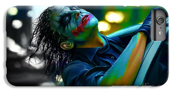 Heath Ledger IPhone 7 Plus Case by Marvin Blaine