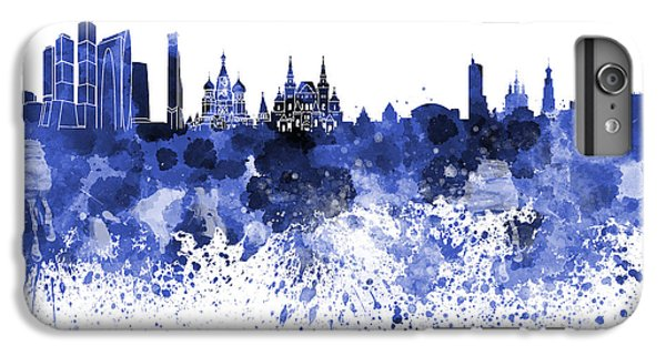 Moscow Skyline White Background IPhone 7 Plus Case