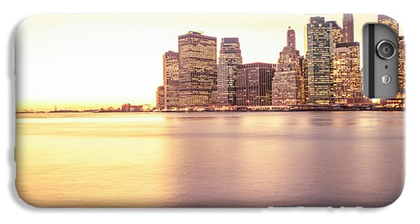 City Sunset iPhone 7 Plus Case - New York City by Vivienne Gucwa
