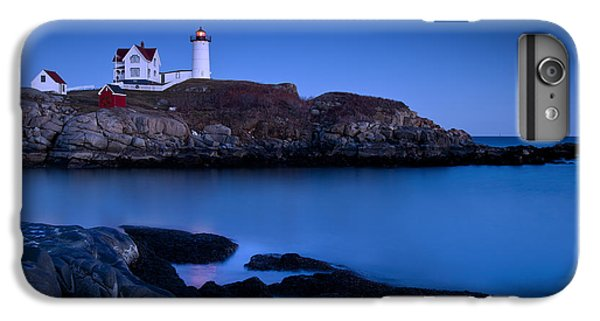 England iPhone 7 Plus Case - Nubble Lighthouse by Brian Jannsen