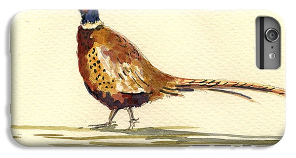 Pheasant iPhone 7 Plus Case - Pheasant by Juan  Bosco