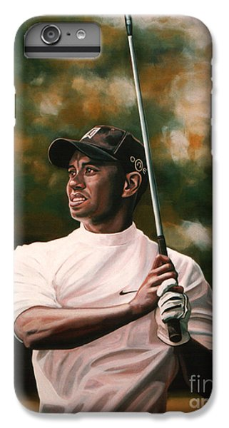 Tiger Woods  IPhone 7 Plus Case by Paul Meijering