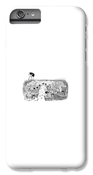 Emu iPhone 7 Plus Case - New Yorker October 31st, 2016 by Will McPhail