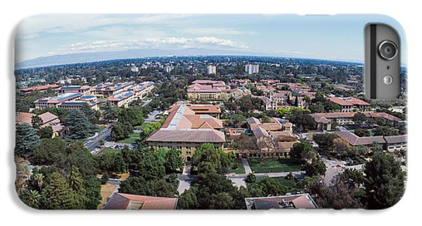 Aerial View Of Stanford University IPhone 7 Plus Case by Panoramic Images