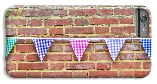 Bunting IPhone 7 Plus Case by Tom Gowanlock