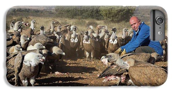 Griffon Vulture Conservation IPhone 7 Plus Case by Nicolas Reusens