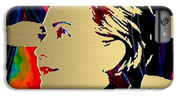 Hillary Clinton Gold Series IPhone 7 Plus Case by Marvin Blaine