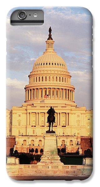 Capitol Building iPhone 7 Plus Case - Usa, Washington Dc, Capitol Building by Walter Bibikow