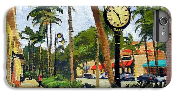 Heron iPhone 7 Plus Case - 5th Avenue Naples Florida by Christine Hopkins