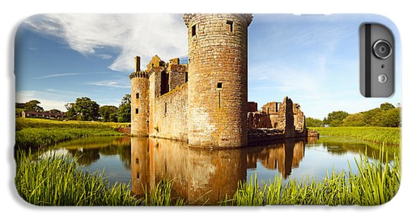 Castle iPhone 7 Plus Case - Caerlaverock Castle by Grant Glendinning
