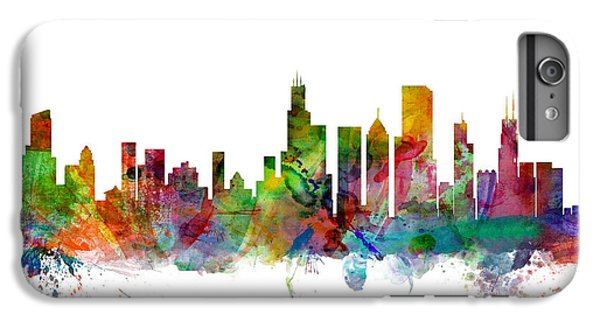 Grant Park iPhone 7 Plus Case - Chicago Illinois Skyline by Michael Tompsett