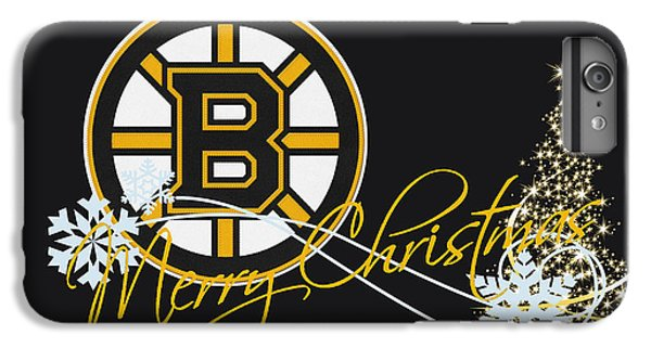Hockey iPhone 7 Plus Case - Boston Bruins by Joe Hamilton