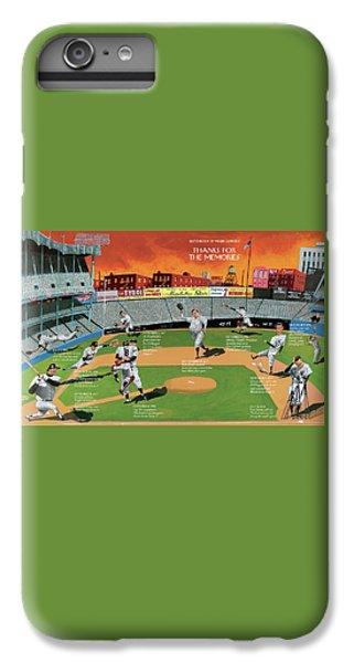 Yankee Stadium iPhone 7 Plus Case - New Yorker September 22nd, 2008 by Mark Ulriksen