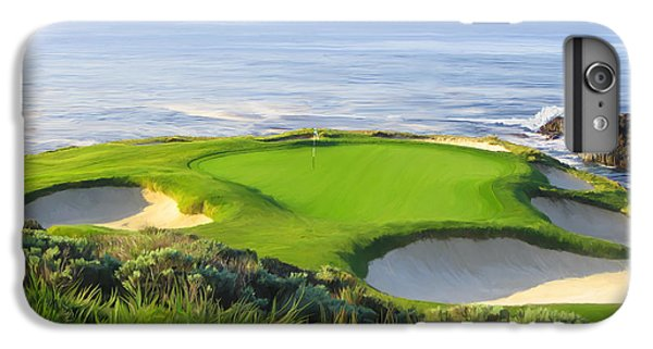 Golf iPhone 7 Plus Case - 7th Hole At Pebble Beach by Tim Gilliland