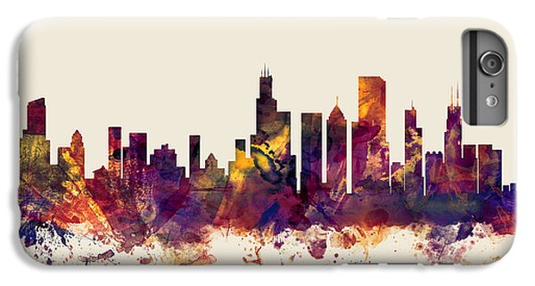 Chicago Illinois Skyline IPhone 7 Plus Case by Michael Tompsett