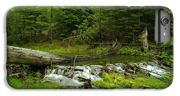 A Beaver Dam Overflowing IPhone 7 Plus Case by Jeff Swan