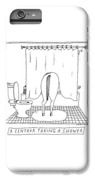 A Centaur Taking A Shower -- The Horse's Rear End IPhone 7 Plus Case