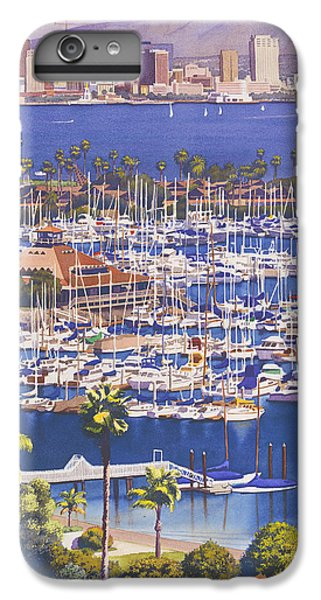 City Scenes iPhone 7 Plus Case - A Clear Day In San Diego by Mary Helmreich