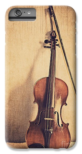 Violin iPhone 7 Plus Case - A Fiddle by Emily Kay