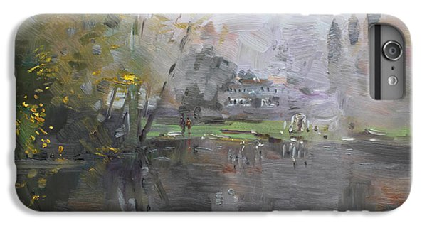Georgetown iPhone 7 Plus Case - A Foggy Fall Day By The Pond  by Ylli Haruni