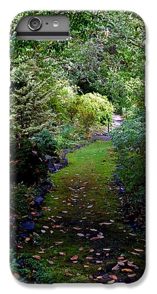 IPhone 7 Plus Case featuring the photograph A Garden Path by Anthony Baatz