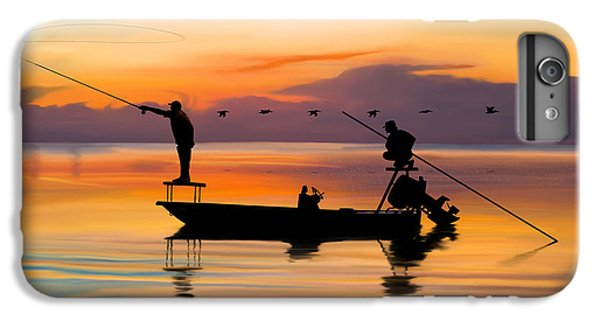 Boat iPhone 7 Plus Case - A Glorious Day by Kevin Putman
