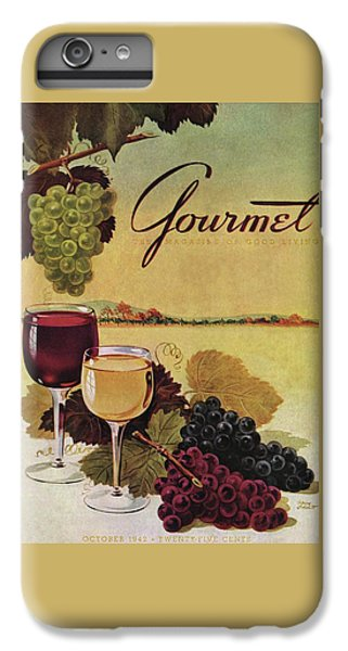 A Gourmet Cover Of Wine IPhone 7 Plus Case