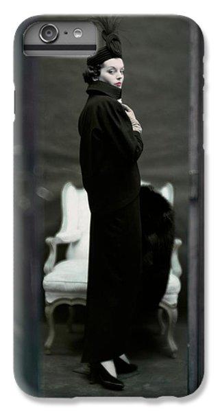 A Model Wearing An Adele Simpsons Ensemble IPhone 7 Plus Case by John Rawlings