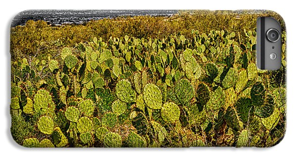 IPhone 7 Plus Case featuring the photograph A Prickly Pear View by Mark Myhaver