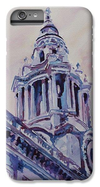 Wren iPhone 7 Plus Case - A Spire Of Saint Paul's by Jenny Armitage