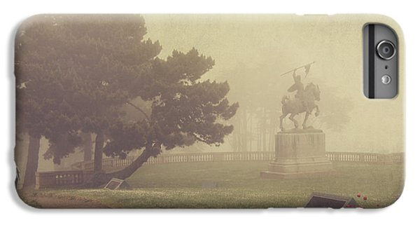 Garden iPhone 7 Plus Case - A Walk In The Fog by Laurie Search